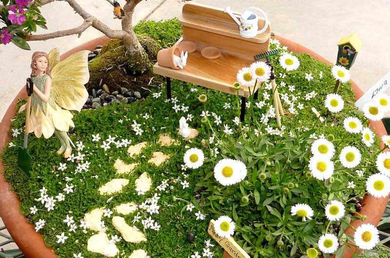 Mini jardín de hadas una hermosa tendencia!