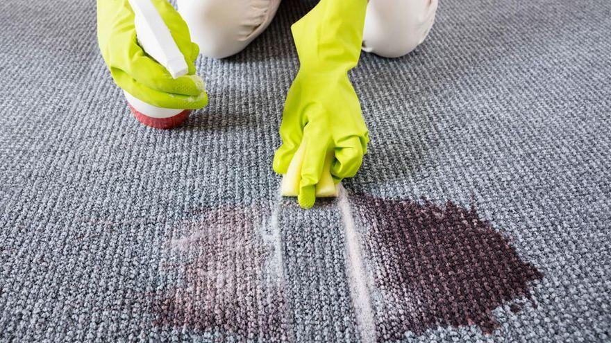Cómo quitar o limpiar plastilina de alfombras y moquetas