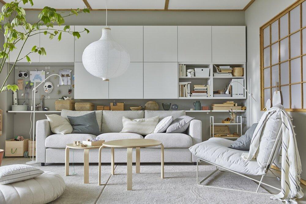 Sofás IKEA para el Salón: ideales para primavera verano