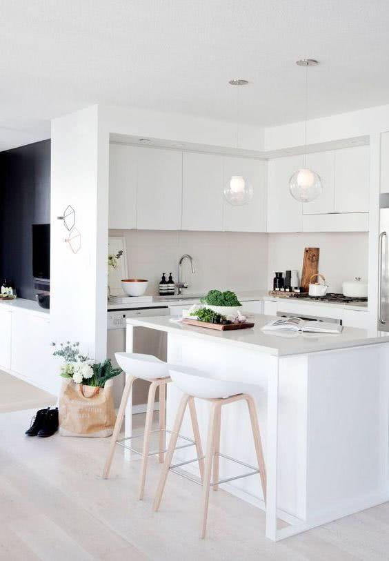 Cocinas pequeñas y modernas con isla