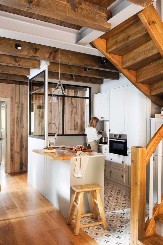 cocina escandinava moderna