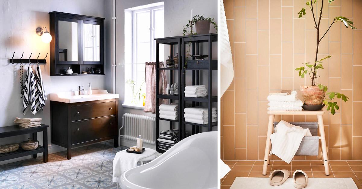 Muebles y Diseño para Baños: Ikea del catálogo 2021